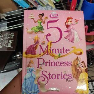 5 Minute Princess Stories Book
